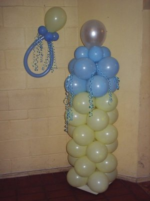 decoracion con globos para baby shower 17680044 1jpg twiwaminenu